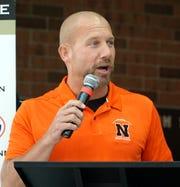 Northville High head football coach Matt Ladach.