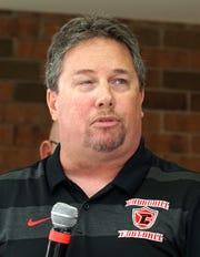 Livonia Churchill Charger head coach Bill DeFillippo.