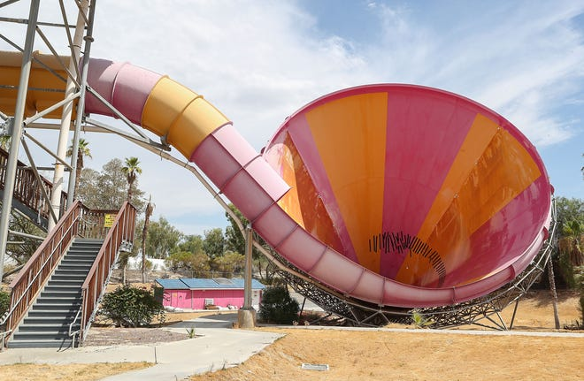 The Pacific Spin at the former Wet n' Wild water park in Palm Springs, August 7, 2019.