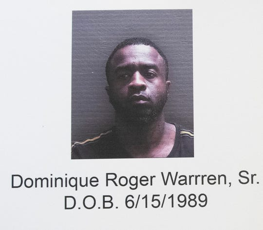 The Escambia County Sheriff's Office is searching for  Dominique Roger Warren Sr. in connection with a home invasion robbery.