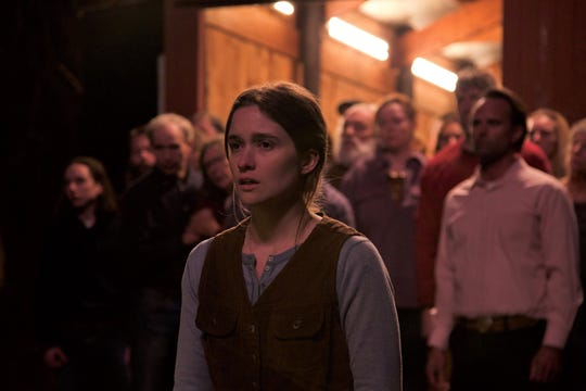 """In """"Them That Follow,"""" Mara (Alice Englert) is the daughter of a church leader."""