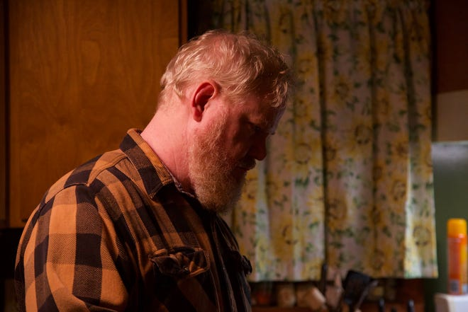"""Zeke (Jim Gaffigan) is a member of a church with unusual practices in """"Them That Follow."""""""