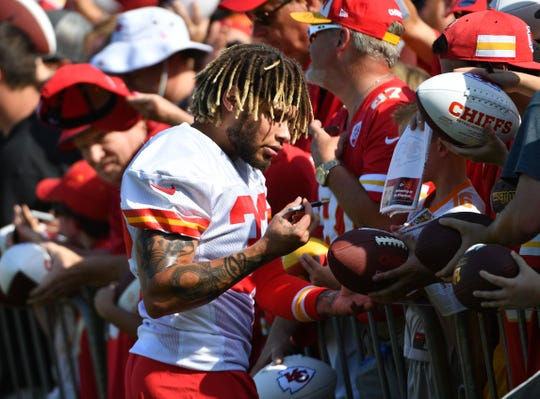 Kansas City Chiefs free safety Tyrann Mathieu (32) is one of the highest paid safeties in the NFL.