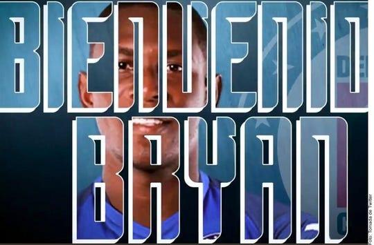 Bryan Angulo llega a reforzar a La Máquina.