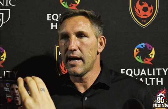 Rick Schantz Director Técnico Phoenix Rising FC.