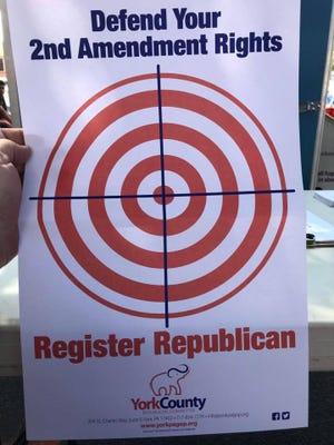 A York County GOP flyer.