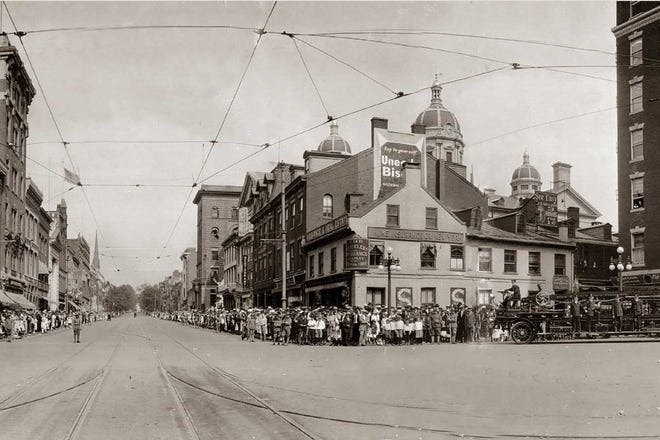 In 1919, York City residents gathered for the annual convention and parade of the York County Firemen's Association.