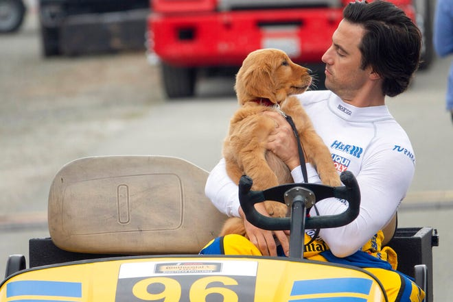 """Milo Ventimiglia stars in """"The Art of Racing in the Rain."""" The movie is playing at Regal West Manchester, Frank Theatres Queensgate Stadium 13 and R/C Hanover Movies."""