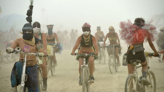 Man arrested at Burning Man site faces charges of sexual assault, false imprisonment