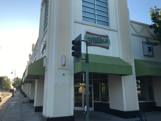 Wilda's in Cascade Square in downtown Redding opened in February 2018. It has closed.