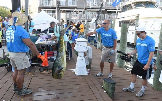 White Marlin Open 2019 leaderboard Day 2 in Ocean City