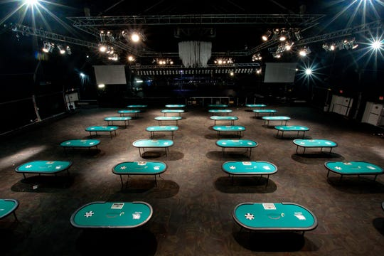 The Riverdome at the Horseshoe Casino in Bossier City will host this week's Southern Poker Open -- the area's first major poker event on land.