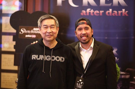 Tana Karn (right) is the CEO of RunGood Poker Events.