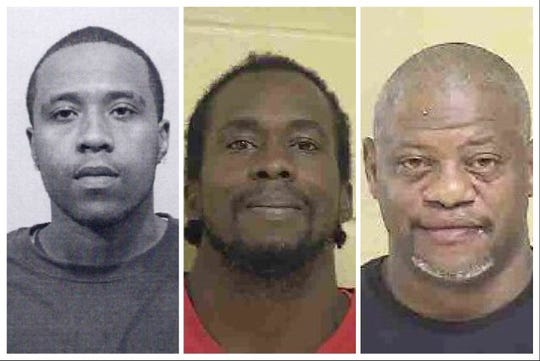 from left to right: Roy Pipkins, Cedric Washington and Patrick Adams.