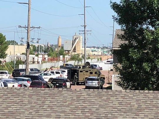 Police, SWAT respond to incident near 12th Street and Lyons Avenue