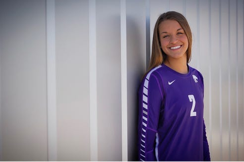 Miller senior Kadye Fernholz committed to Kansas State on Monday.