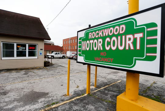 Phyllis Ferguson is renovating the Rockwood Motor Court located at 2204 W. College to bring the motor court back to its Route 66 glory days.