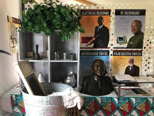 Profiles of famous African-Americans in the fields of electrical resistors, PC technology, refrigeration and agriculture allow visitors to the Gifford Historical Museum to take a step back in history.