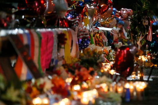 Vigil outside Walmart in El Paso continues Tuesday, Aug. 6, in El Paso.