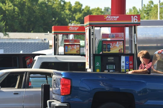 Farmersville Fastrip on Visalia Road boasts the state's cheapest gas prices at $2.81 cash per gallon as of Aug. 7, 2019.