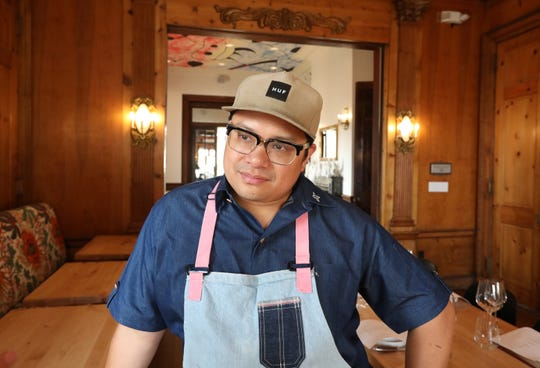 Chef Dale Talde gives a preview of his new restaurant, Goosefeather in Tarrytown Aug. 6, 2019.