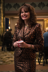"Sandy (Geena Davis) is a new addition to ""GLOW"" Season 3."