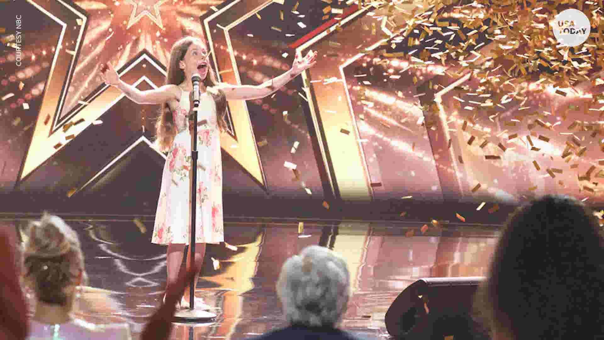 AGT': 10-year-old opera singer Emanne Beasha stuns Jay Leno
