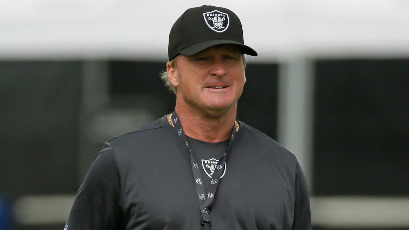 ea717e05 Hard Knocks: Oakland Raiders' Jon Gruden ends NFL dreams early