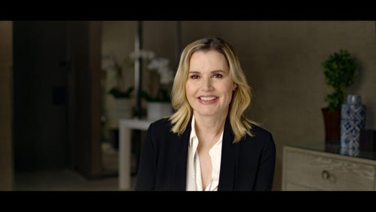 """Geena Davis in """"This Changes Everything,"""" which also features Meryl Streep, Reese Witherspoon and Shonda Rhimes."""