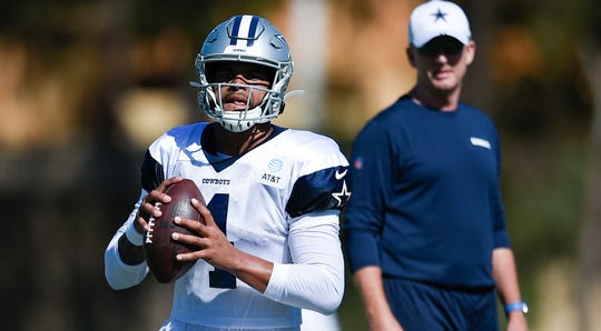 Dak Prescott is entering his fourth season with the Cowboys.