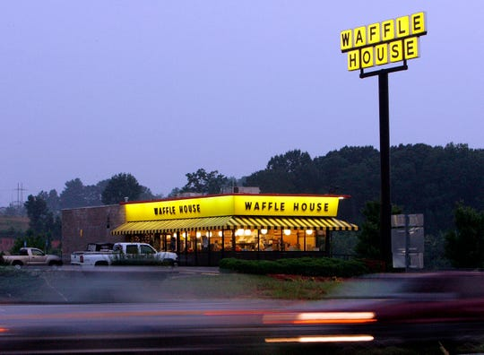 A Waffle House near Dawsonville, Georgia. The company is adding another location in Delaware along U.S. 40 in Bear.