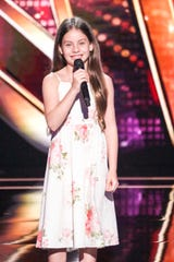 "Opera singer Emanne Beasha received a golden buzzer from Jay Leno on ""America's Got Talent."""