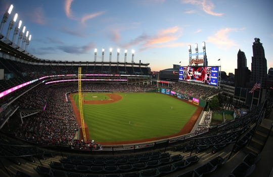Cleveland's Progressive Field underwent renovations that dramatically reduced the stadium's capacity.