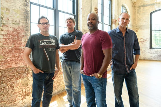 Hootie & the Blowfish will release a new album on Nov. 1.