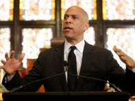 Booker denounces white supremacy at 2015 Charleston shooting site as Trump visits El Paso and Dayton