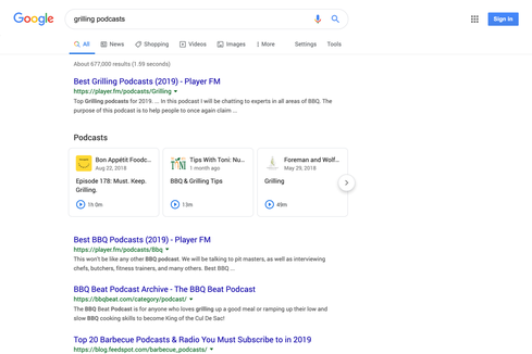 Google is bringing podcasts into search