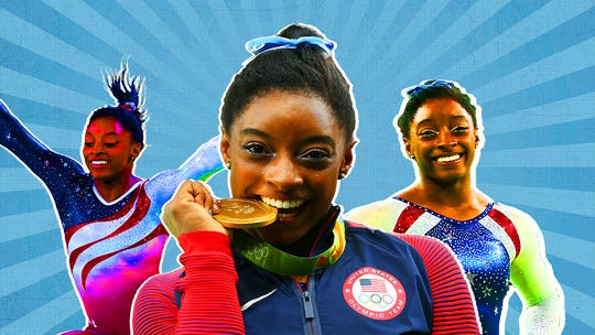 Simone Biles on where she keeps all those medals, her favorite athletes, her future