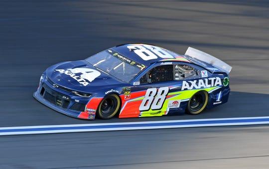Alex Bowman drives the No. 88 Chevrolet.