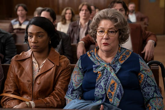"Ruby (Tiffany Haddish, left) has the world's worst mother-in-law (Margo Martindale) in ""The Kitchen."""