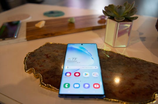 Samsung Galaxy Note 10+  smartphone.