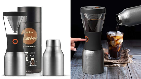 Cold brew is life, and this clever portable cold brew maker means you can get it everywhere you go.