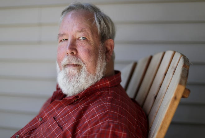 """Tom Truesdell of Appleton was 17 when he went to the original Woodstock Music and Arts Fair in Bethel, New York in August 1969. """"It was very peaceful,"""" he remembered. """" ... People were very 1969. That was a revelation to me."""""""