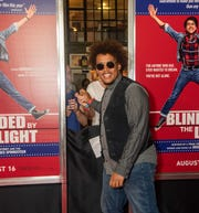 "Premiere of ""Blinded by the Light"" at the Paramount Theatre, Asbury Park. Jarod Clemons on the red carpet. Photo/James J. Connolly/Correspondent."