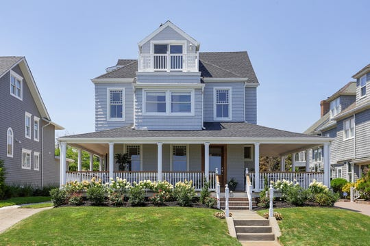 Spring Lake Victorian home at 1611 Ocean Avenue blends charm and character.