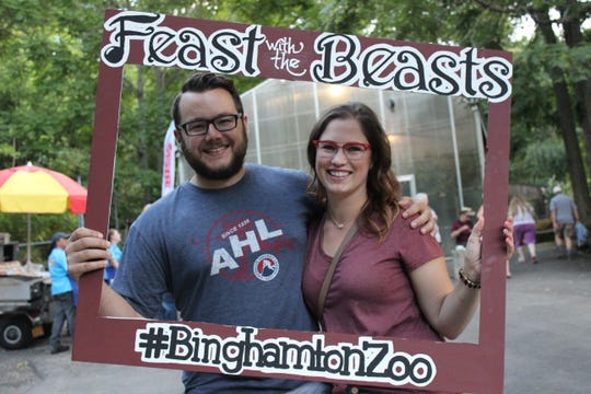 The Binghamton Zoo at Ross Park will hold its Feast with the Beasts fundraiser Wednesday evening.