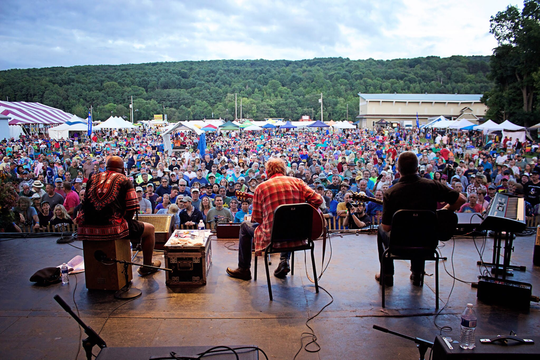 Music lovers flock to the 2018 Chenango Blues Festival. The festival will return this weekend.
