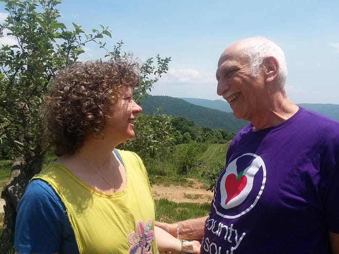 """Sherry Lovett and Larry Pearlman will play the starring roles in the Aug. 18 presentation of """"A Tale of Two Charlies"""" at the White Horse."""