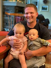 William Boardman spends time with his niece, left, and nephew after completing the drug rehabilitation program at William's Place, where he now serves as a resident manager.