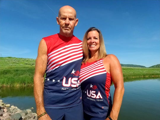 Bob and Donna Hobkirk are two of three paddlers from Brevard's Dragon Boat Racing chapter that will be competing at the 2019 Dragon Boat Racing World Championships in Thailand.