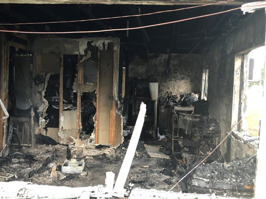 A triplex on the 1000 block on Counts Street in Cocoa burned Aug. 8. A resident of the building, Randy Jones, 30, has been charged with arson.